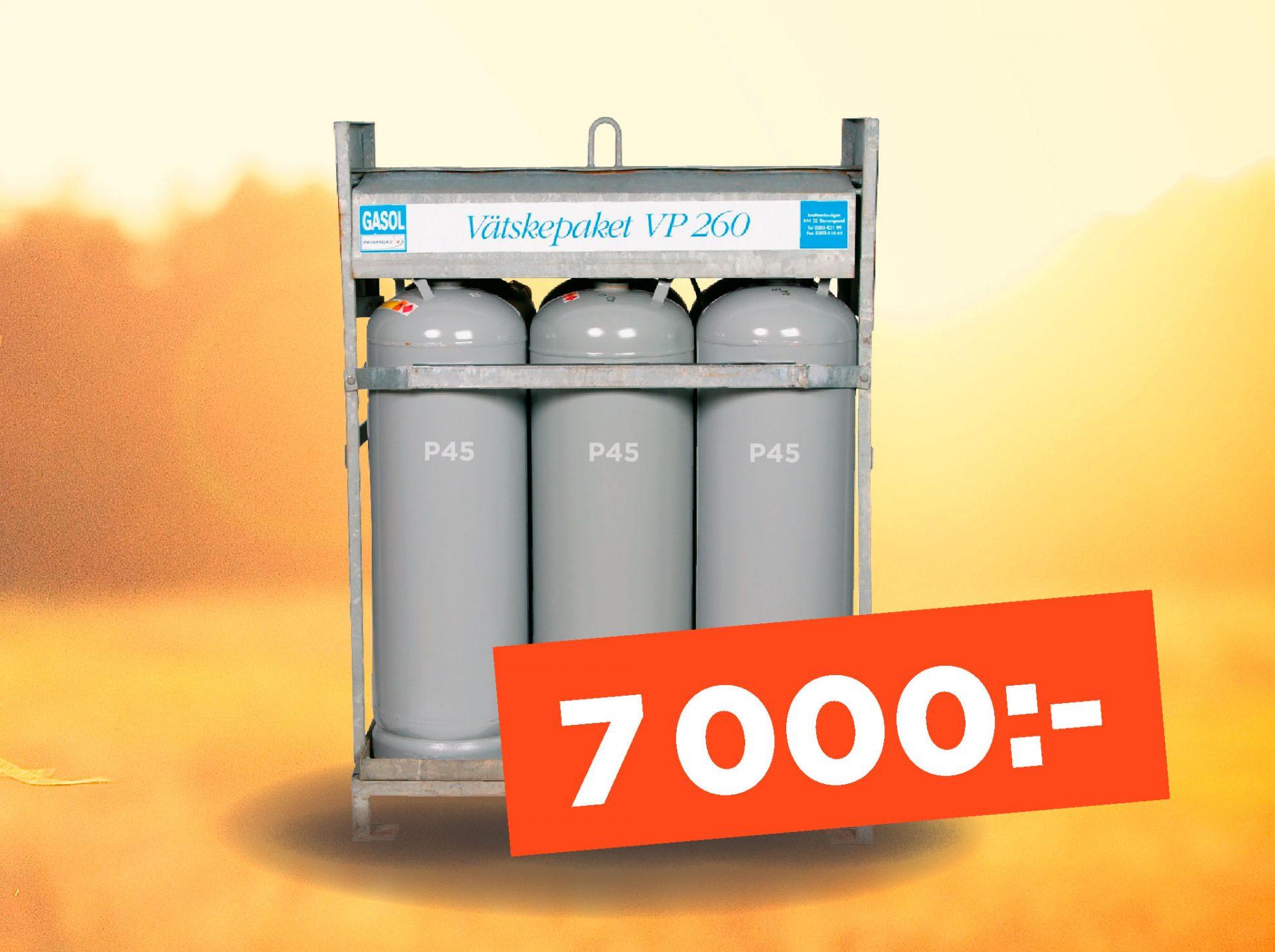 Gasolpaket-P260